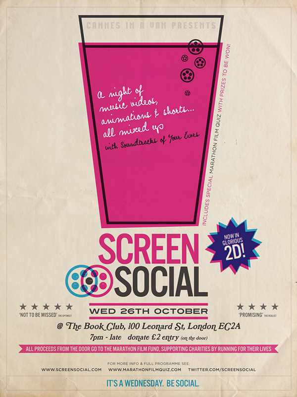 Screen Social: 26.10.2011