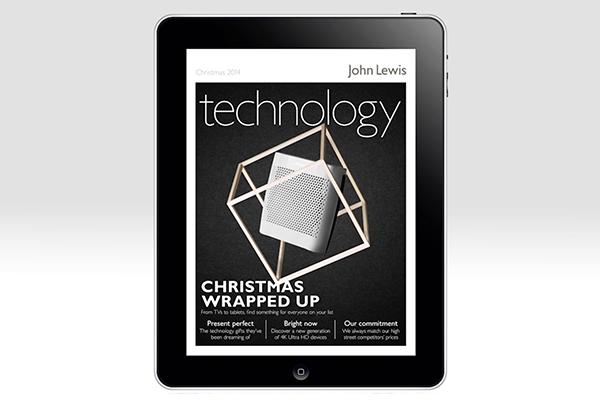 John Lewis // Christmas 2014 iPad Cover