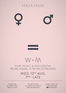 Screen Social 34 W=M Poster