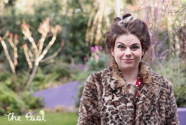 The Pool // Caitlin Moran & her precious writing space…